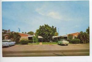 Fort Lauderdale FL Motel Old Cars Postcard