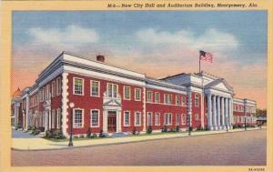 Alabama Montgomery New City Hall And Auditorium Building