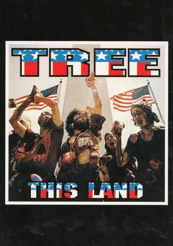 Tree This Land Is Your Land CD  Frank Kozik Concert Poster Postcard