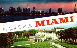 Florida Greetings From Miami The Magic City
