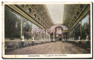 Old Postcard Versailles The Gallery of Battles