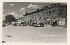 RP; SPEARFISH , South Dakota , 1930-40s ; Main Street