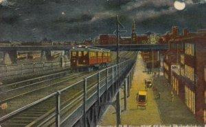 PHILADELPHIA , Pa. , 1900-10s ; Elevated Railroad , 32nd Street West