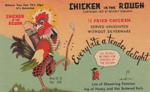 OKLAHOMA CITY, Beverly's Chicken In The Rough, Oklahoma, 30-40s