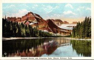 Glacier National Park Grinnell Glacier and Josephine Lake