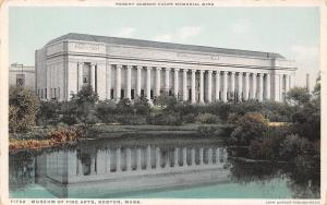 Boston MA~Museum of Fine Arts~Robert Dawson Evans Wing~Detroit Pub Co~1910 PC
