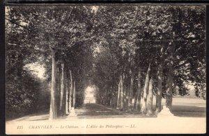 Le Chateau,L'Allee des Philosophes,Chantilly,France BIN