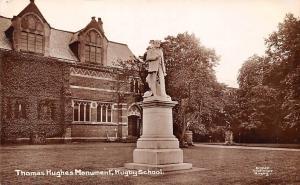 Rugby School, Warwickshire Thomas Hughes Monument, Statue 1912
