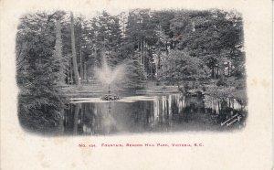 VICTORIA , B.C. , Canada , 1900-10s ; Fountain , Beacon Hill Park
