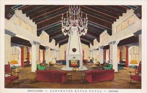 Illinois Chicago West Lounge Edgewater Beach Hotel