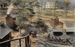 Entrance to Mary Lee Coal Mine Birmingham Alabama 1910c postcard
