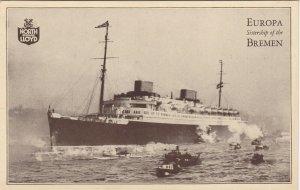 RP: Oceanliner EUROPA , North German Lloyd , 20-40s