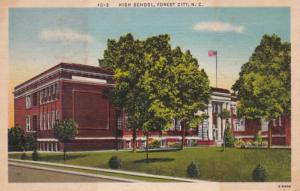North Carolina Forest City High School 1944