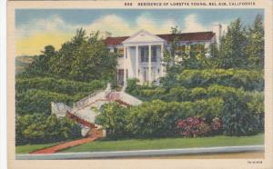 Residence Of Loretta Young, BEL AIR, California, 1910-1920s