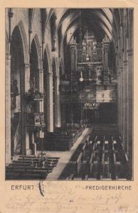 ERFURT , Germany , PU-1913 ; Predigerkirche