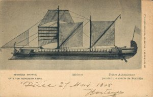 Greece Athenian Ship during the Pericles century 05.14