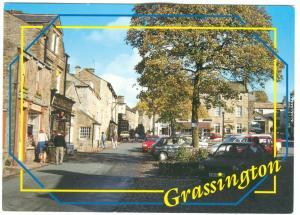 UK, Grassington, used Postcard