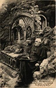 CPA ROTHÉNEUF - Rochers sculptés - Le Tombeau et l'Ermite au tepcs (226879)