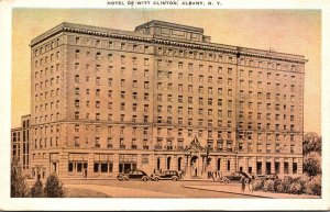 New York Albany Hotel De Witt Clinton 1939