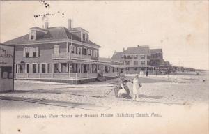 Ocean View House And Newark House Salisbury Beach Massachusetts