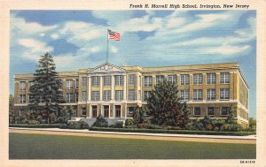 Frank H. Morrell High School, Irvington, New Jersey, Early Postcard, Unused