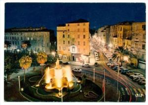 Ajaccio , France, 50-60s   Illumination de la Place Foch et de la Rue Bonaparte