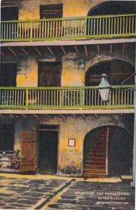 Louisiana New Orleans Courtyard & Prison Rooms In The Cabildo
