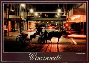 Ohio Cincinnati Downtown Carriage Ride