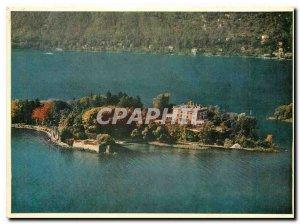 Postcard Modern Brissago Aerofoto