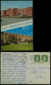University of Alberta & Hospital -Edmonton 1962 gold rush