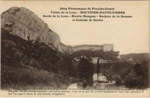 CPA MOUTHIER-HAUTE-PIERRE Bords de la Loue - Moulin Maugain (1115721)