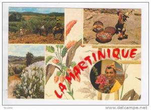 La MARTINIQUE, 4-view, PU-1978