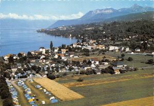 France Amphion les Bains Les campings La Ville et le Lac Leman