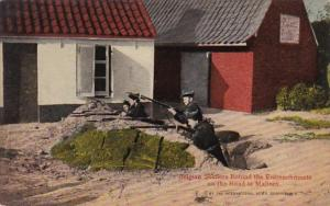 Belgium Belgian Soldiers Behind The Entrenchments On The Road To Malines
