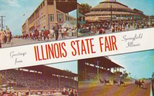 Illinois Springfield Greetings From The Illinois State Fair Multi View 1969