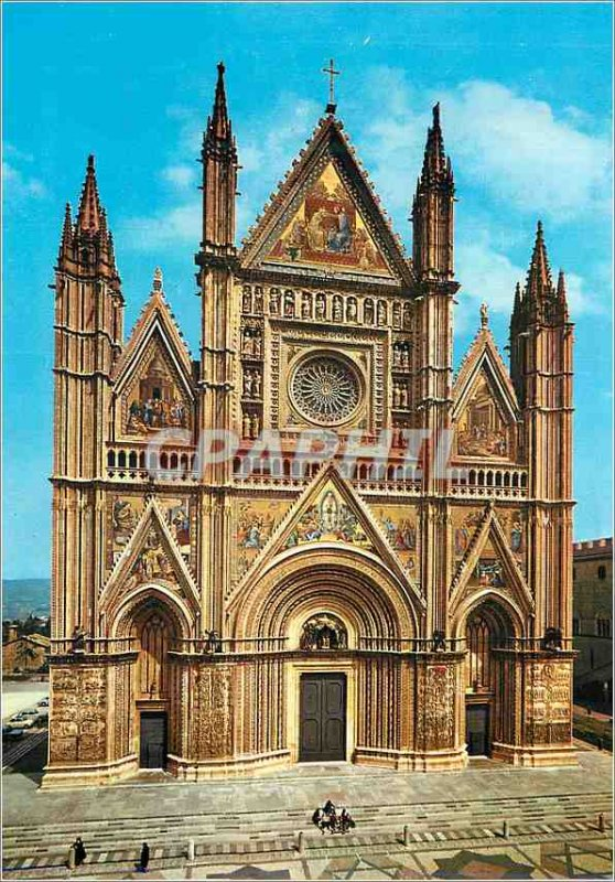 Postcard Modern Orvieto The Cathedral