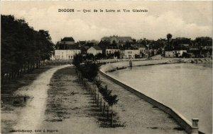 CPA Digoin Quai de la Loire et Vue Generale FRANCE (952824)