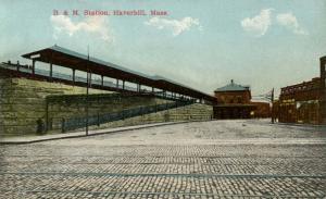 MA - Haverhill.  Boston & Maine Railroad Station