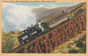 New Hampshire White Mountains Mount Washington Cog Railway Jacob's Ladder