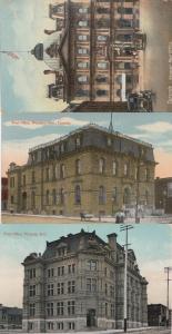 Windsor Toronto Post Office Ontario Canada 3x Postcard