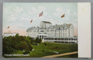 The Frontenac, Thousand Islands, NY Early UDB Postcard (#6015)