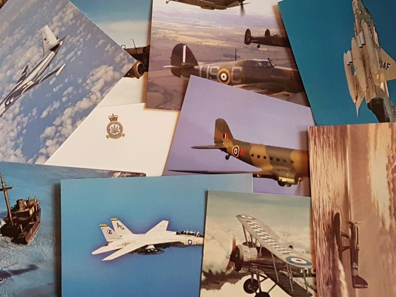 NEW Packs of Aircraft Postcards Ideal for Postcrossing, all different