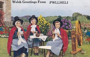 Welsh Greetings From Pwllheli