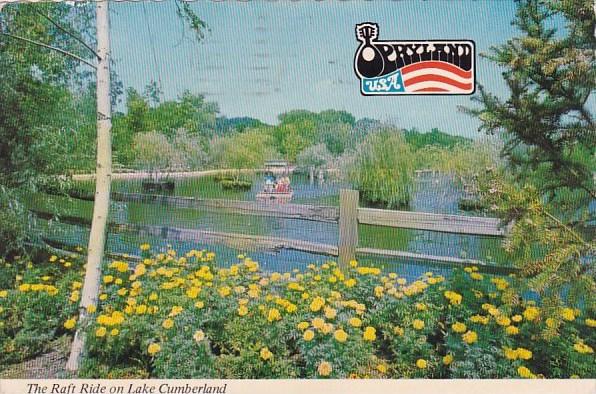 Tennessee Nashville Opryland U S A The Raft Ride On Lake