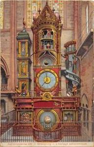 Rotating Wheel Die Astronomische Munsteruhr Zu Unused