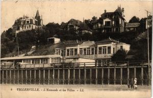 CPA Villerville-L'Estacade et les Villas (422533)