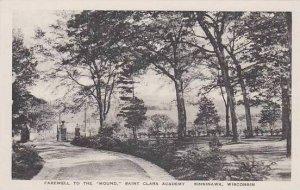 Wisconsin Sinsinawa Farewell To The Mound Saint Clara Academy Albertype
