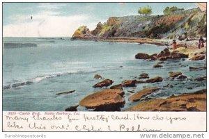 Castle Rock Santa Barbara California 1907