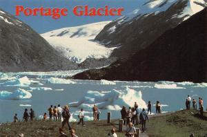 USA World Famous Portage Glacier Just South of Anchorage Alaska