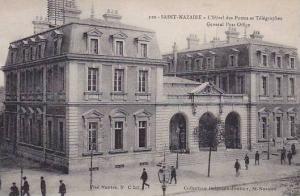 St Nazaire , France , 1900-10s ; L'Hotel des Postes et Telegraphes
